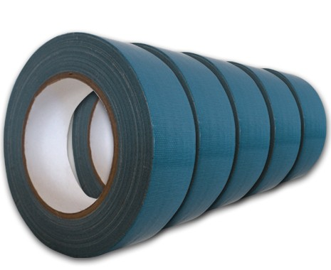 5er Set Gewebeband 38 mm breit, Farbe blau