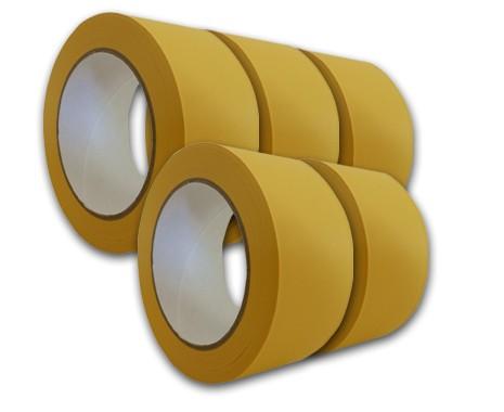 5er Set Klebeband PVC, 50 mm breit