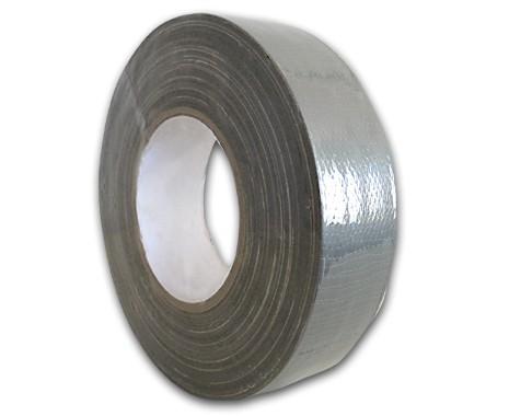 Steinklebeband 38 mm, Farbe silber