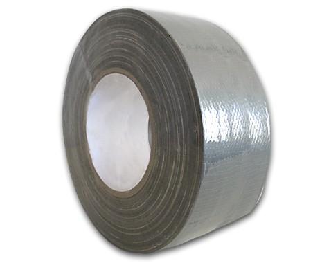 Steinklebeband 50 mm, Farbe silber