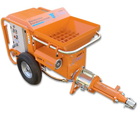 clay plaster machine, multifunctional mixing pump UMP 1 L-Power, 400V, 16A