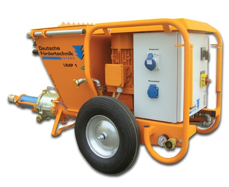 mixing pump UMP 1 Dualpower Z, 230V, 400V switchable
