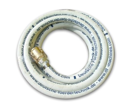 NW 25 mortar pressure hose - 10 m, with couplings