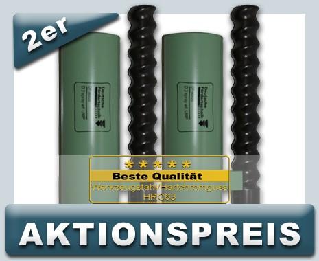 2x Rotor 2x Stator D3 UMP spray, weißgrün AKTIONSPREIS