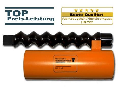 D6 3 Rotor Stator, Standard, orange mit Zapfen