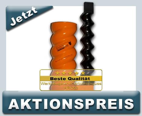 D6 3 Rotor Stator, spiral, Standard, orange mit Zapfen Aktion