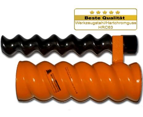 D6 3 Rotor Stator, spiral, Standard, orange