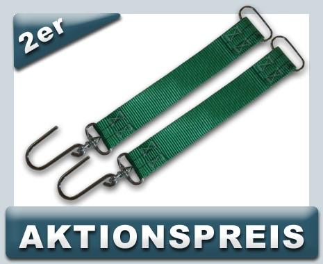 2x Hakenband zur Schlauchbefestigung - AKTIONSPREIS