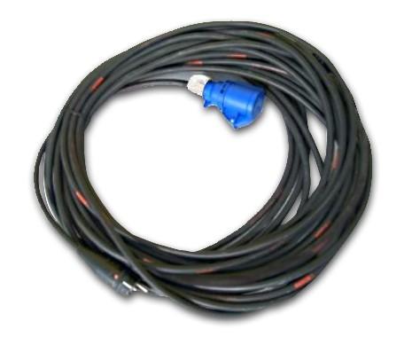 Stromanschlusskabel, 25 m, 16 A, 3 x 2,5 mm²