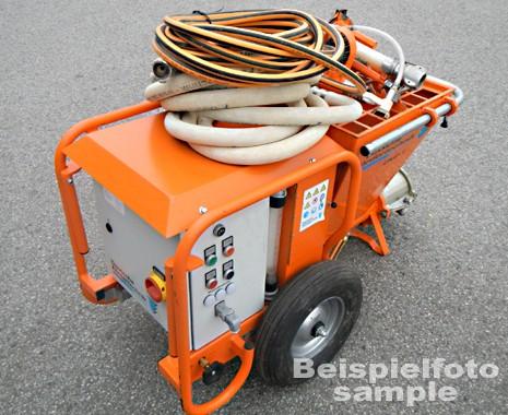 plaster machine, mixing pump UMP 1 Standard plus second hand
