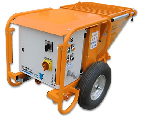 plastering machine, mixing pump UMP 1 Dualpower, 230V, 400V switchable