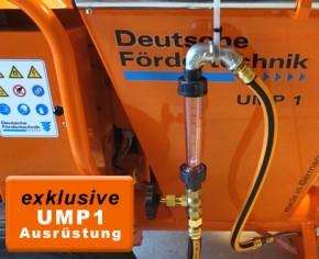 Wasserfeindosiereinheit 40-400 Liter/h für UMP 1 Mischpumpen